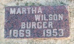 Martha E. <i>Wilson</i> Burger