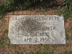 Lillian Ruth <i>Bickett</i> Baker