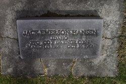 Jack Emerson Hansen