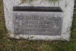 Rick Emerson Hansen