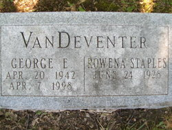 George Evan VanDeventer