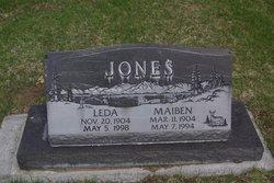 Ethel Leda <i>Sayer</i> Jones