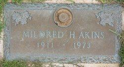 Mildred H Akins