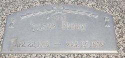 Charles Tilson Brown