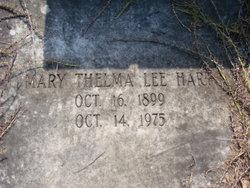 Mary Thelma <i>Lee</i> Hart