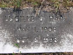 Lucille C Hart