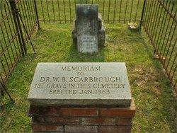 Dr William Bascomb Scarbrough