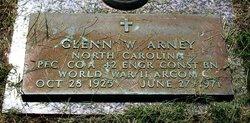 PFC Glenn W Arney