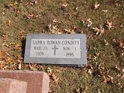 Sabra Carmelita <i>Rowan</i> Conditt