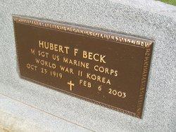 Hubert F Beck