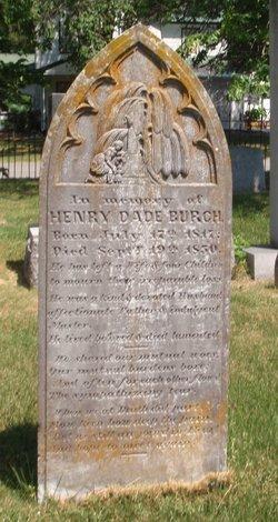 Henry Dade Burch