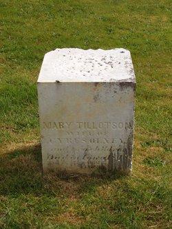 Mary <i>Tillotson</i> Olney