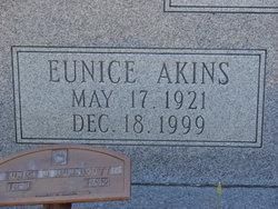 Eunice <i>Akins</i> Hunnicutt