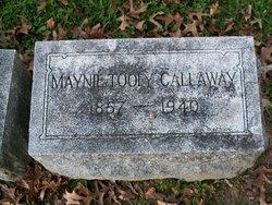 Maynie Minnie <i>Tooly</i> Callaway