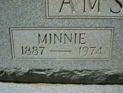 Minnie Elizabeth <i>Russell</i> Amsden