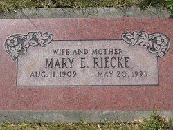 Mary Ellen <i>Bigelow</i> Riecke