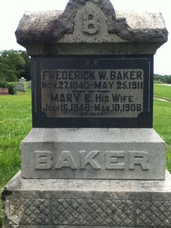 Mary Elizabeth <i>Crockett</i> Baker