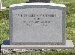 Noble F Greenhill, Jr.