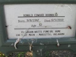 Ronald Edward Ronnie Hornbeak