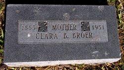 Clara Belle <i>Bertling</i> Broer