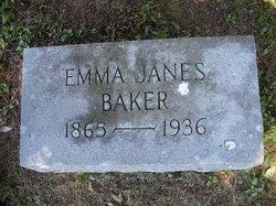 Mrs Emma J <i>Janes</i> Baker