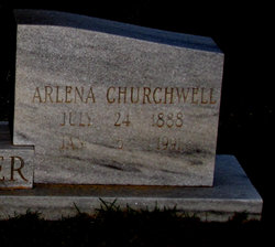 Ila Arlena Lene <i>Churchwell</i> Fletcher