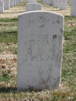 Arthur W Arbogast