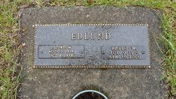 Mary Elizabeth Bessie <i>Wight</i> Edlund