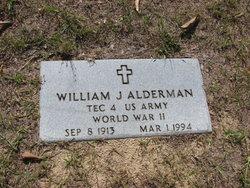 William J Bill Alderman