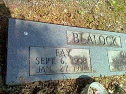 Fay Spurgeon Blalock