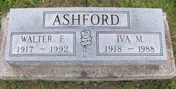 Iva Mae <i>Burkhart</i> Ashford