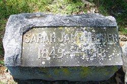 Sarah Jane Jennie <i>McCracken</i> Hebner