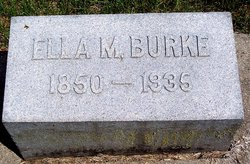 Ella M <i>Hoover</i> Burke