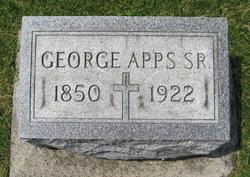 George Edward Apps, Sr