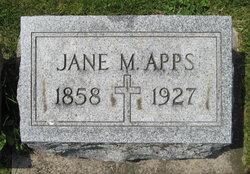 Jane Ann <i>Matson</i> Apps