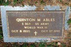 Quinton M Ables