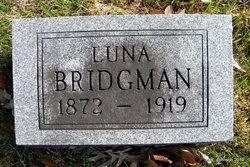 Luna Almira Miller <i>Osteen</i> Bridgeman