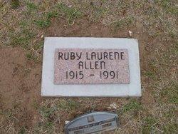 Ruby Laurene Allen