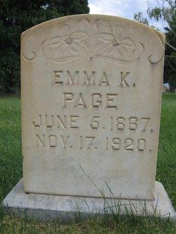 Emma <i>Kemp</i> Page