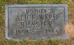 Alice <i>Weed</i> Blasier