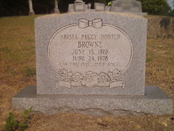 Arista Peggy <i>Dortch</i> Browne