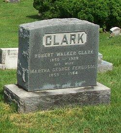 Martha George <i>Ferguson</i> Clark