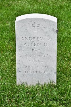 Andrew A Allen, III