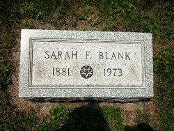 Sarah <i>Foltz</i> Blank