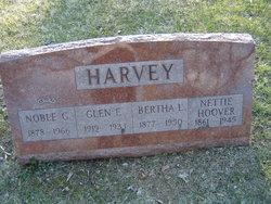 Alice Jeanette Nettie <i>Hoover</i> Harvey