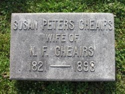 Susan Peters <i>McKissack</i> Cheairs