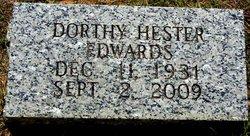Dorothy <i>Hester</i> Edwards
