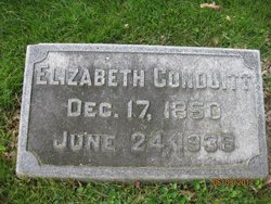 Elizabeth <i>Thornburgh</i> Conduitt