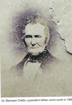 Dr Ebenezer Childs, III