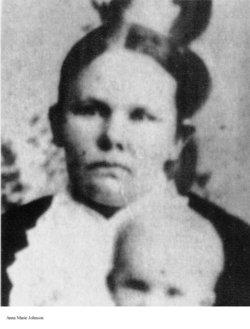 Anna Maria <i>Johnson</i> Clinger